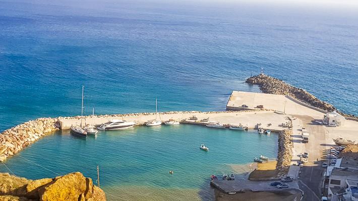 Anafi port po przebudowie