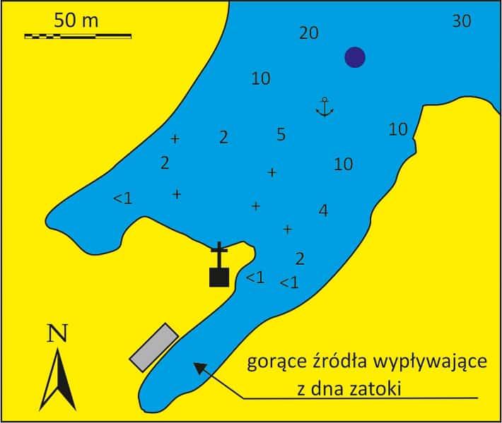 Palea Kameni mapka
