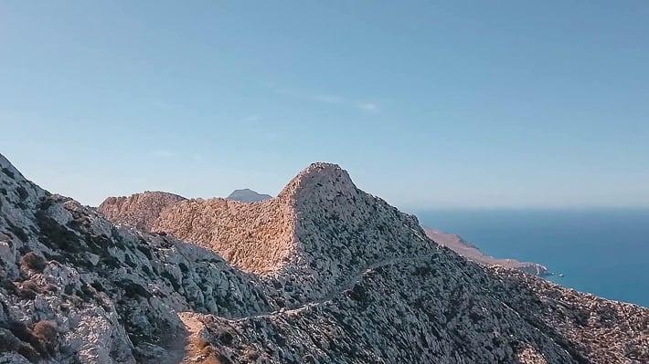 szlak do klasztoru Kalamiotissa