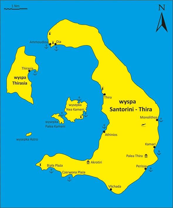 Thira mapka