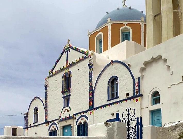 Thirassia kościół w Argila